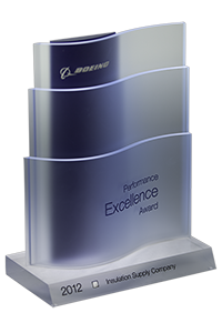 Boeing 2012 Supplier Excellence Award